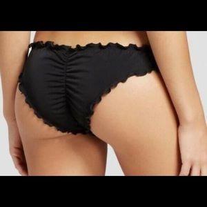 Victoria's Secret ruffle cheeky swimsuit bottom